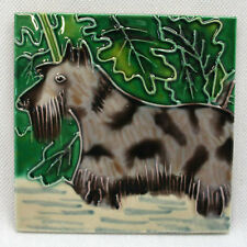 TILE CRAFT - Decorative Tile - SCOTTISH TERRIER - #0753K