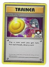 Sabrina GYM BADGE Trainer Holographic League Pokemon Promo CARD XY208