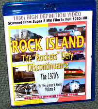"20141 BLU-RAY HD TRAIN VIDEO ""ROCK ISLAND "" ROCKETS DEFY"