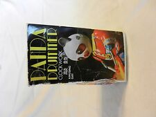 Vintage Wind Up Clock Work Panda Drummer Made in China BNOS  (H1)