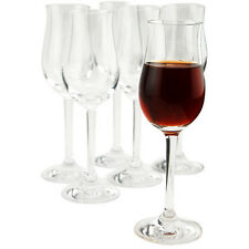 Classic Port Wine Glasses - Set of 6 - Sherry Glass Enhances the Aroma & Flavor