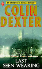 Colin Dexter  Last Seen Wearing (Pan crime) Book