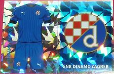 QFC1 2 GNK Dinamo Zagreb kit & badge 2016/2017 Topps Champions League Stickers