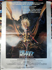 """Heavy Metal 1981 Movie Poster 24"""" by 18"""" Chris Achilleos Taarna Dragon Space!"""