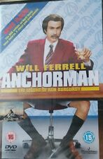 Anchorman - The Legend Of Ron Burgundy  DVD, New & Sealed