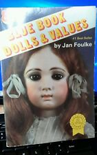 "Doll book, paperback: ""8th Blue Book Dolls & Values"" by Jan Foulke  cp-593"