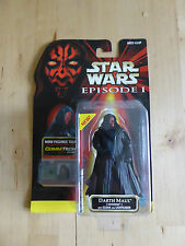 STAR WARS episode 1 PHANTOM MENACE hasbro figure - DARTH MAUL (tatooine) coll 1