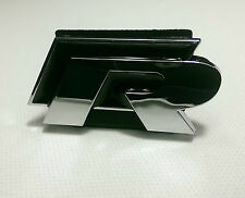 VW GOLF R FRONT GRILLE BADGE GOLF TIGUAN GTD GTI R32 GT R-LINE