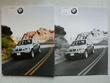 Prospekt - Der neue BMW X5  (3.0i, 4.4i), 1.2000, ca. 100 Seiten + Preisliste