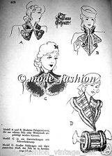 1941 Lutterloh The Golden Rule 300 Vintage Sewing Patterns book complete 1