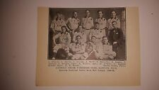 Catholic Order Foresters Hancock Michigan 1910 Indoor Baseball Team Picture RARE