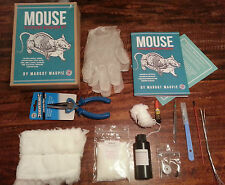 DIY Mouse taxidermy craft kit inc. manual and full tool kit for stuffing