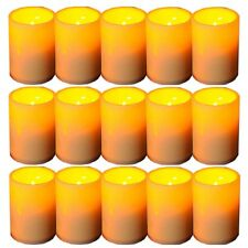 15 PCS LED Flameless Tealights Battery Operated Flickering Tea Light Led Candles
