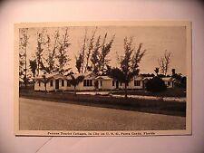 Persons Tourist Court in Punta Gorda FL 1941