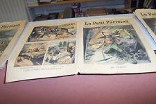 LE PETIT PARISIEN N° 985 1907 LE GRISOU ENTEREE VIVANT EPOUVANTABLE SUICIDE