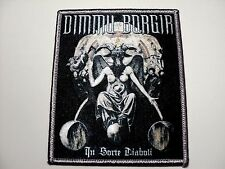 DIMMU BORGIR  IN SORTE DIABOLIC     WOVEN PATCH IRON OR SEW
