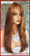 McKenzie  MONOPART WIG BY ENVY *COLOR LIGHT BROWN NEW AUTHENTIC
