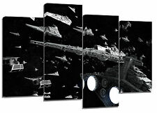 "Star wars imperial navy/set of 4 new canvas prints/ 32""x 20""/A1"
