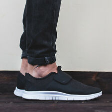 NIKE FREE SOCFLY Trainers Shoes Gym Running Casual Slip-on - UK 7 (EUR 41) Black