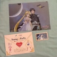 "LIMITED MARRIAGE Sailor Moon Crystal stamp serenity magnet card file folder ""CEL"