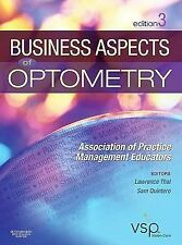 Business Aspects of Optometry by APME (Brand New Hardcover)