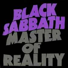 BLACK SABBATH 'Master Of Reality' Factory Sealed LP 12'' Album  / 180G VINYL +CD