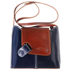 Crossbody Bag Italian Genuine Leather Hand made in Italy Florence 209 dbb