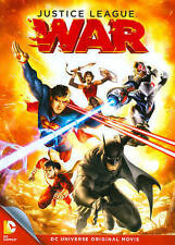 DCU Justice League: War, New DVD, Zach Callison, Steve Blum, Christopher Gorham,