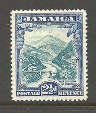 Album Treasures Jamaica Scott # 107  2 1/2p Castleton St. Andrews Mint Hinged