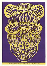 MINT Mindbenders Chocolate Watch Band 1966 BG 16 Fillmore Poster