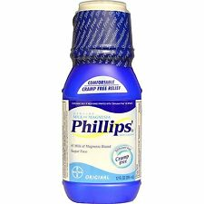 Phillip Milk of Magnesia Original 12 oz constipation