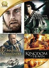 Cast Away/Last of the Mohicans/Master & Commander/Kingdom of Heaven (DVD, 2015)