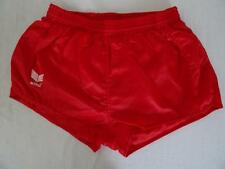 Vintage 70s /80s ERIMA Football / Sports shorts Silky Red   5/ M    314 P