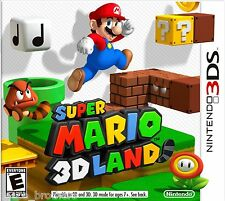 3DS NEW AUTHENTIC SUPER MARIO 3D LAND NINTENDO 2DS GAME SEALED 2011 CTRPAREE USA
