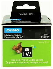 DYMO LabelWriter 99014 - Shipping / Badge 220 Labels 101x54mm Genuine S0722430