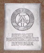 DDR Grenzschild aus Aluminium - Deutsche Demokratische Republik