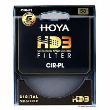 Hoya 58mm HD3 16-Layers Coating Circular Polarizer Filter. U.S Authorized Dealer