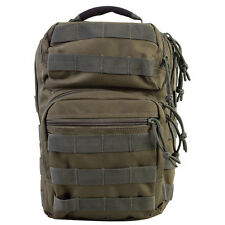 ARMY OLIVE GREEN MINI MOLLE - RUCKSACK -  SHOULDER BAG - MAN BAG - BRAND NEW