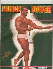 Vintage Muscle Power Bodybuilding fitness magazine Clarence Ross 2-48