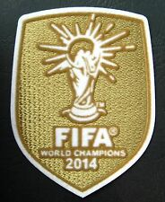 2014 WORLD CUP BRASIL CHAMPIONS, GERMANY, SOCCER FOOTBALL PATCH BADGE BRAZIL