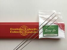 silver solder kit Eutectic 1800 4 rods x 250mm + flux FREE POSTAGE!!!