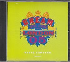 Cream Royal Albert Hall London '05 RARE promo CD sampler '05