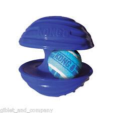 KONG RAMBLER BALL SMALL  Asst Colors Tennis Ball in Larger Ball Squeaker Dog Toy