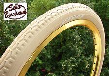 """20"""" x 1,75 Fahrrad Reifen Creme - Beige,  47 - 406mm, 20 Zoll"""