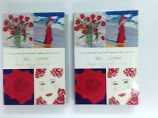 Jane Seymour - Limited edition note cards - 2 boxes 24 cards (our stock # 02138)