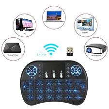 Mini Wireless 2.4GHz LED Backlit Remote Control Keyboard Air Mouse Touchpad H0C5