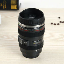 Stainless Camera Lens Cup Coffee Tea Travel Mug Thermos Cup 400ml