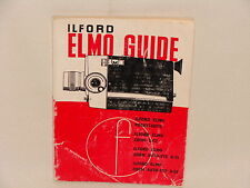 Ilford Elmo GUIDA – CAMERA focale LIBRO