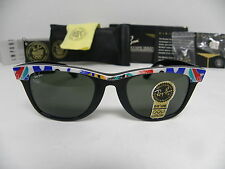 New Vintage B&L Ray Ban Wayfarer Olympic Games Series 1992 Barcelona 50mm W1131