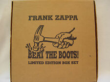 FRANK ZAPPA - Beat The Boots! LP (RARE RHINO Official Release, 8 Albums/11LPs)